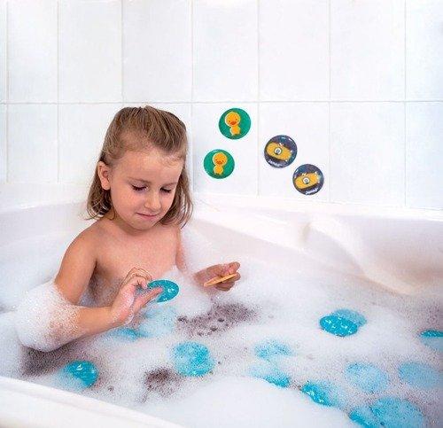 Janod - Gra Memory do Kąpieli Zwierzątka 24 elementy 2+
