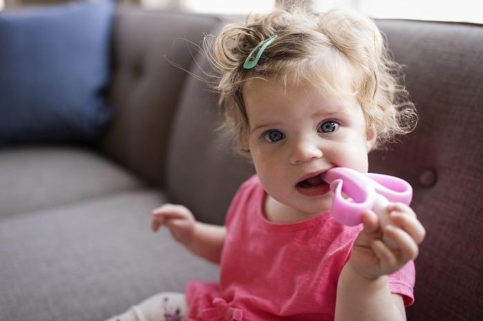 Baby Banana - Szczoteczka Treningowa Pink 3m+