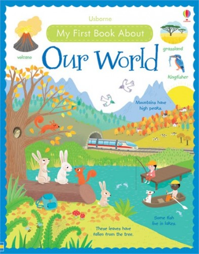 Wydawnictwo Usborne Publishing - My First Book About Our World