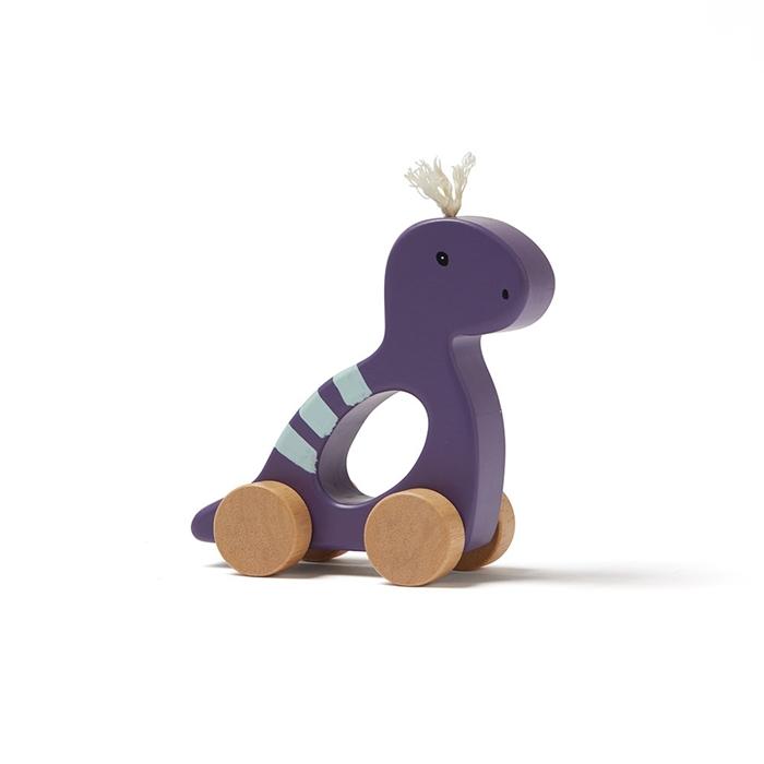 Kids Concept - Zabawka na Kółkach Dino Purple NEO 1+