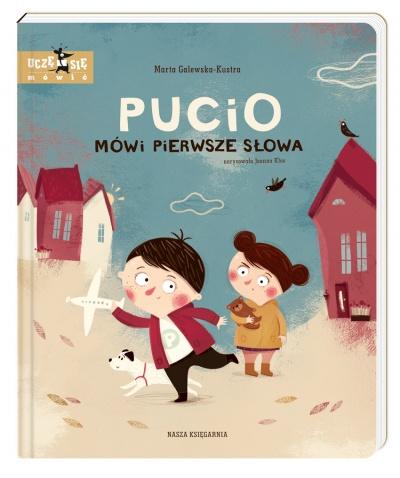 Wydawnictwo Nasza Księgarnia - Pucio mówi pierwsze słowa