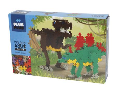 Plus Plus - Klocki Mini Basic 480 Dinozaury