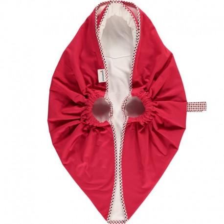 Snugglebundl - Baby Blanket Poppy Red