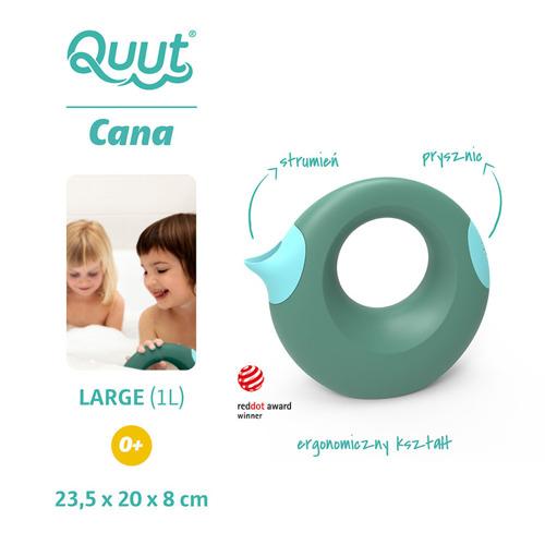 Quut - Konewka Duża Cana Mineral Green + Vintage Blue 0m+