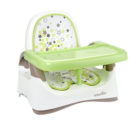 W Mega Babymoov - Kompaktowe Krzesełko Składane Almond / Taupe XI25