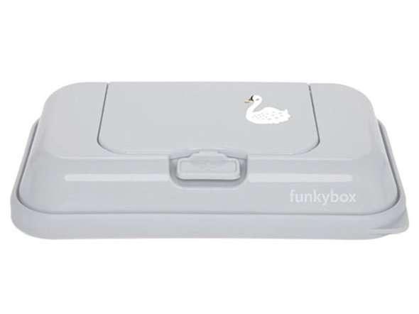 Funkybox - Pojemnik na Chusteczki To Go Grey Swam