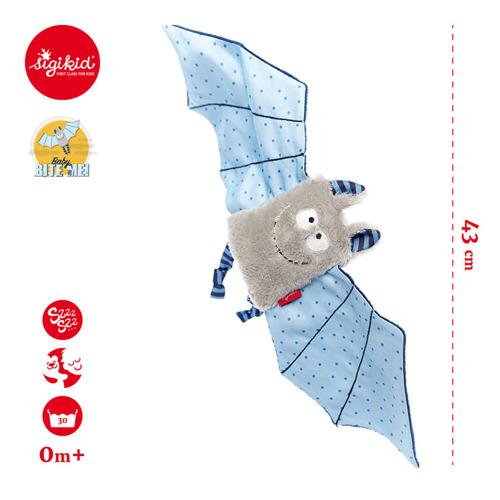 Sigikid - Przytulaczek - komforter Niebieski Nietoperz