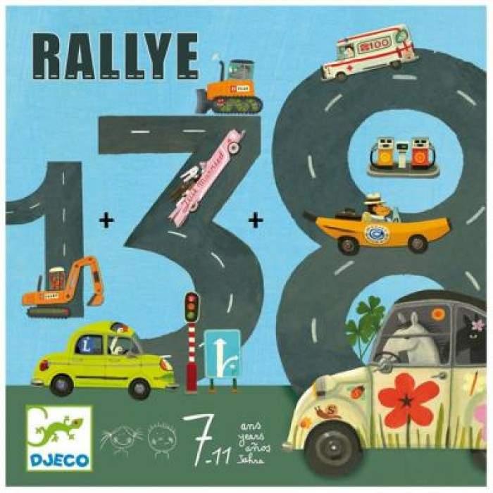Djeco - Gra Planszowa Rallye
