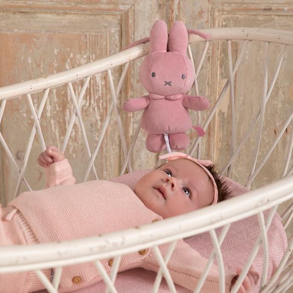 Tiamo - Pozytywka Miffy Pink Babyrib 0m+