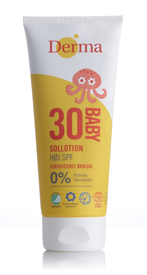 Derma Sun - Baby Mineralny Filtr UV SPF 30, 200 ml