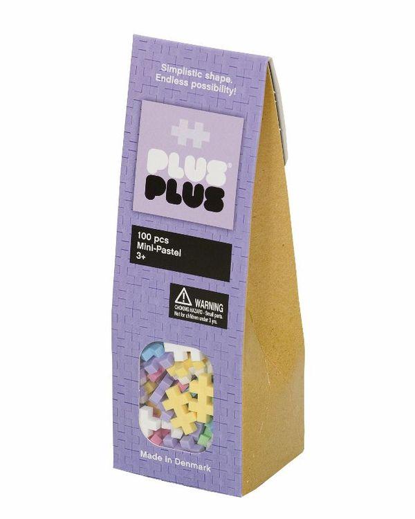 Plus Plus Klocki Mini 100 Pastel 3+