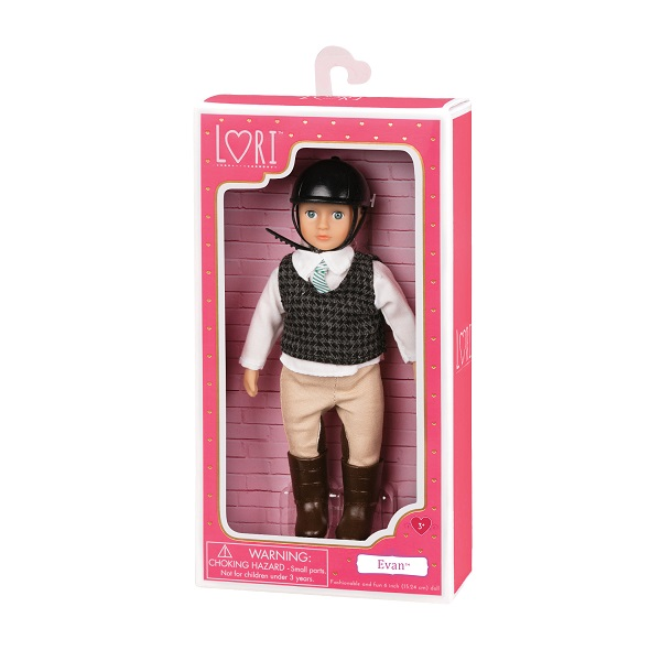 Lori - Lalka Evan Chłopiec 3+