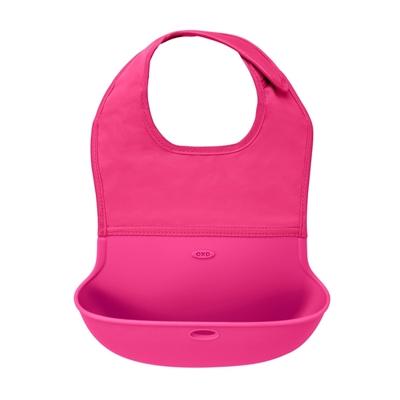 OXO - Śliniak Zwijany Pink