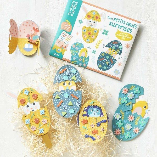 Auzou - Zestaw Artystyczny Wielkanocne Jajeczka 5+
