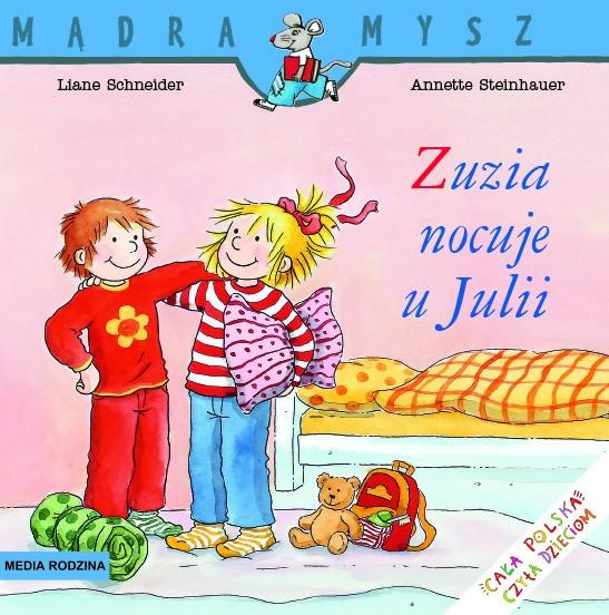 Wydawnictwo Media Rodzina -  Zuzia Nocuje u Julii