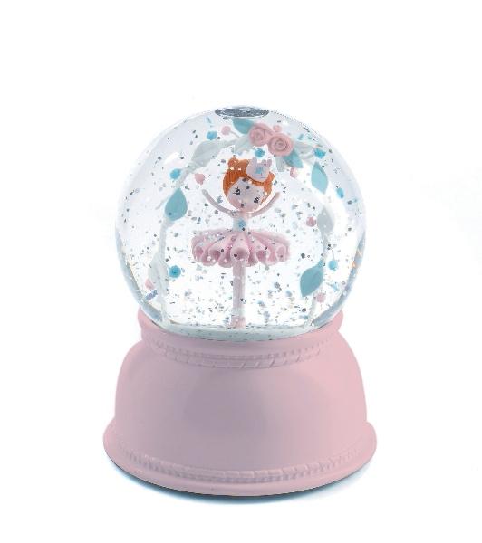 Djeco - Lampka Kula Śnieżna Balerina