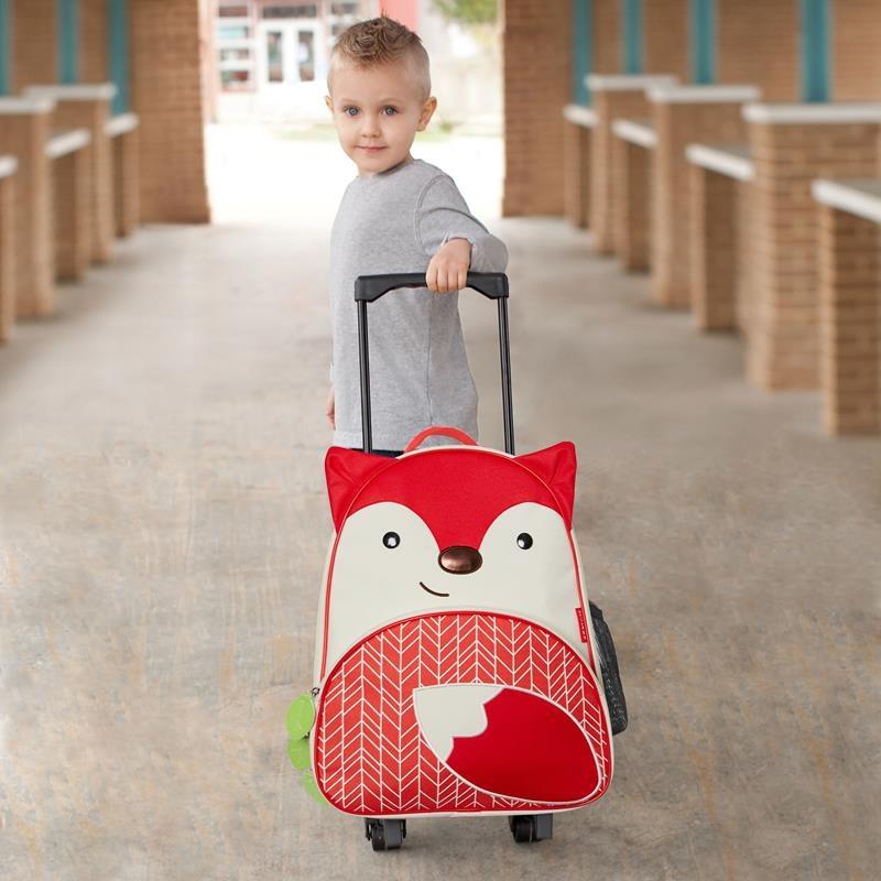 2349289a482d7 Skip Hop - Walizka Zoo Pack Lisek / Plecaki, walizki, torby, torebki ...