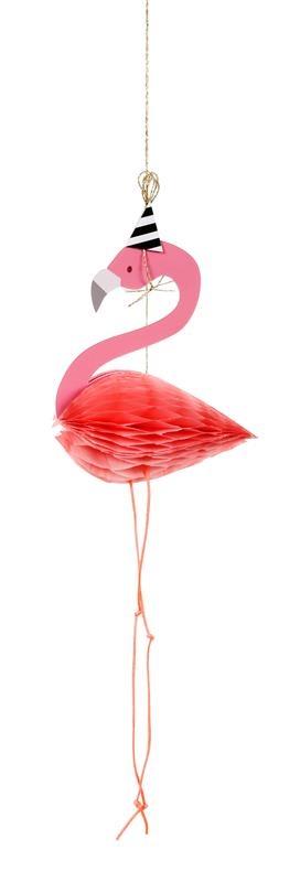 Meri Meri - Kartka Okolicznościowa 3D Flaming
