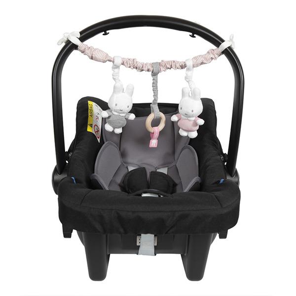 Tiamo - Pałąk Interaktywny Miffy Pink Babyrib 0m+