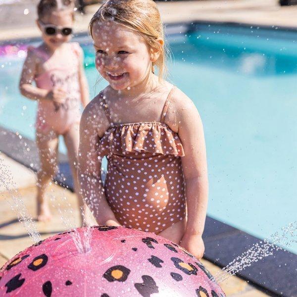 The Swim Essentials - Zraszacz w kształcie piłki Panterka róż