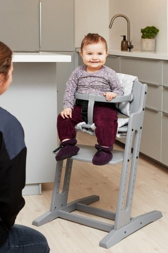 Baby Dan - Krzesełko do Karmienia Baby Dan DANCHAIR Bielone