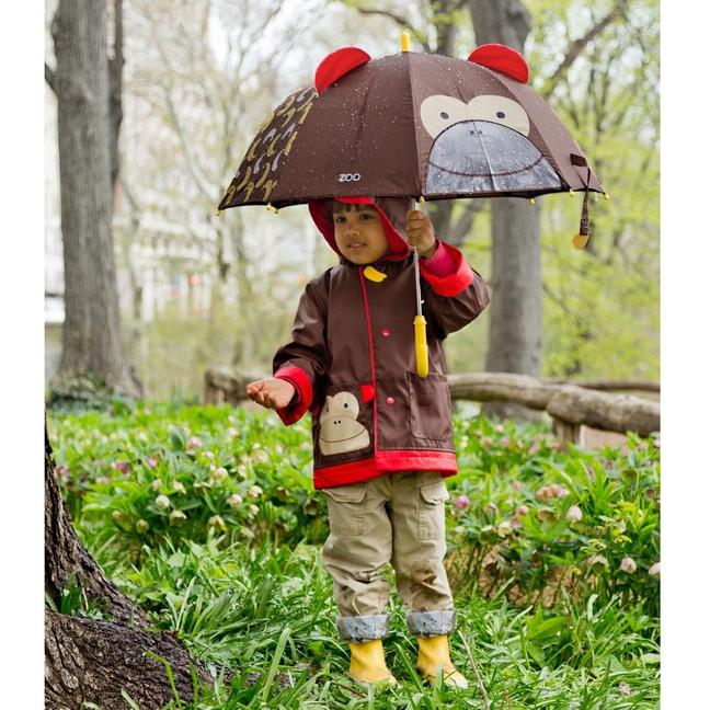 Skip Hop - Płaszcz Przeciwdeszczowy Zoo Małpka 5-6 lat