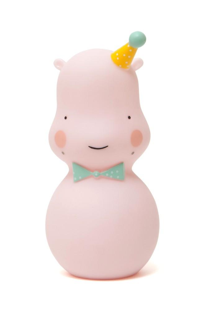 Eef Lillemor - Lampka Happy Hippo – Pink