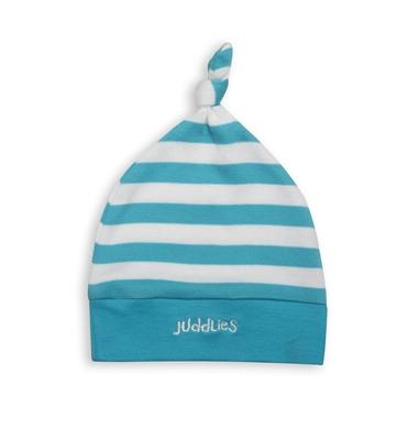Juddlies - Czapka Niemowlęca Scuba Blue Stripe