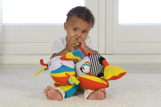 Dolce - Zabawka Sensoryczna Maskonur 0m+