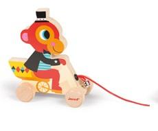 Janod - Zabawka do Ciągnięcia Małpka