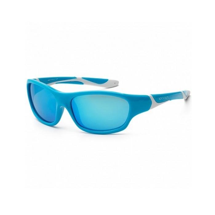 Koolsun - Okularki dla Dzieci Sport Aqua White 3-8 lat