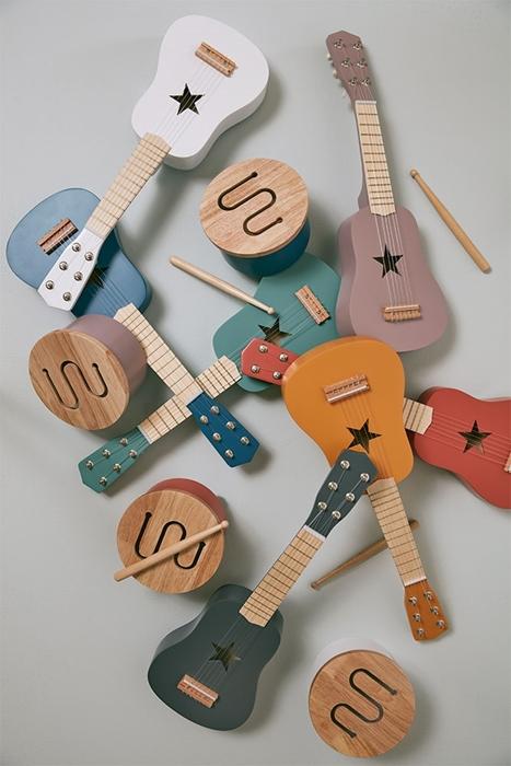 Kids Concept - Gitara Dark Grey 3+