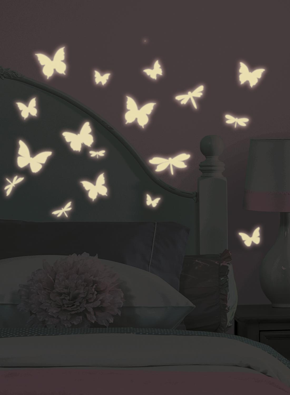 Roommates Naklejki Scienne Wielokrotnego Uzytku Fluorescencyjne
