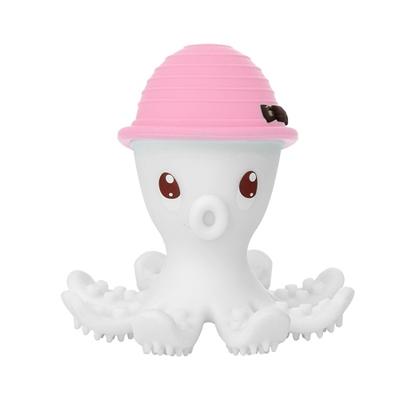 Mombella - Gryzak Zabawka Ośmiornica Pink