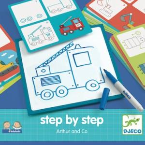 Djeco - Nauka Rysowania Krok Po Kroku Artur