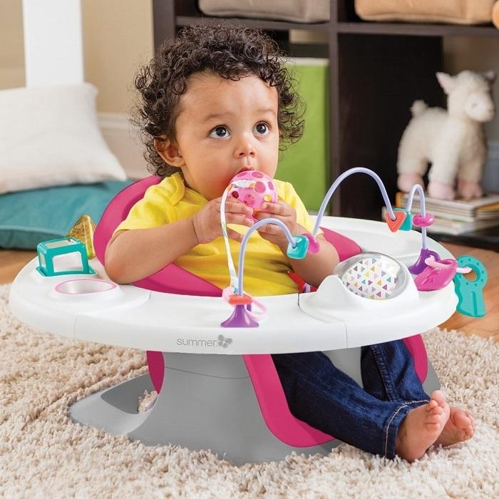 Summer Infant - Siedzisko Super Seat 4 w 1 Pink