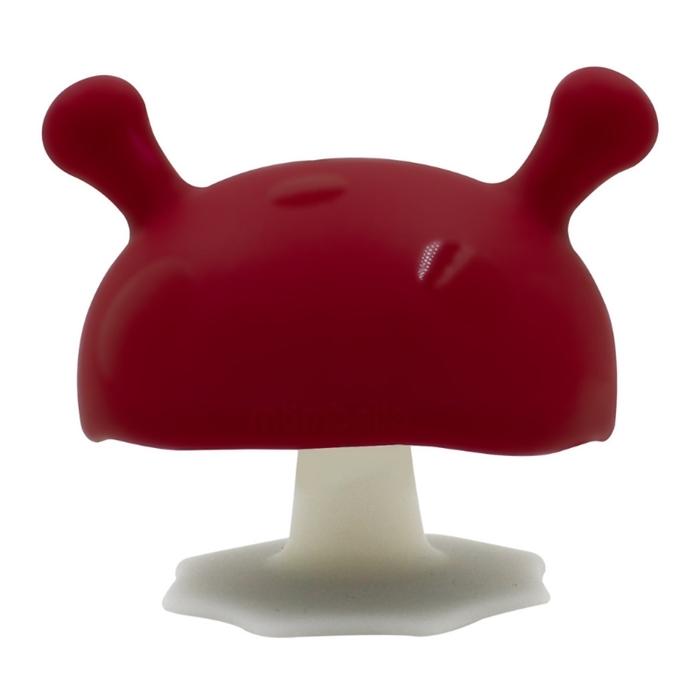 Mombella - Gryzak Grzybek Mushroom Chimney Red