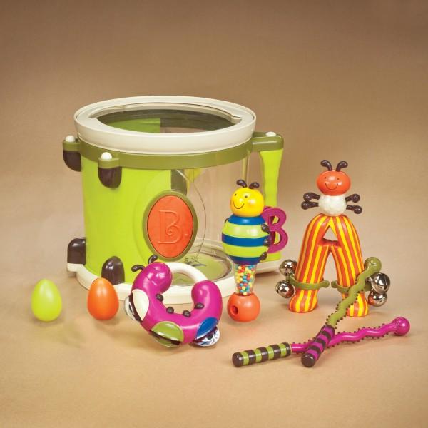 B.Toys - Zestaw Instrumentów w Nietypowych Kształtach