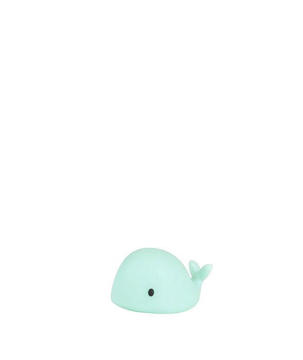 Flow - Lampka Nocna LED Wieloryb Moby Mini Zielony