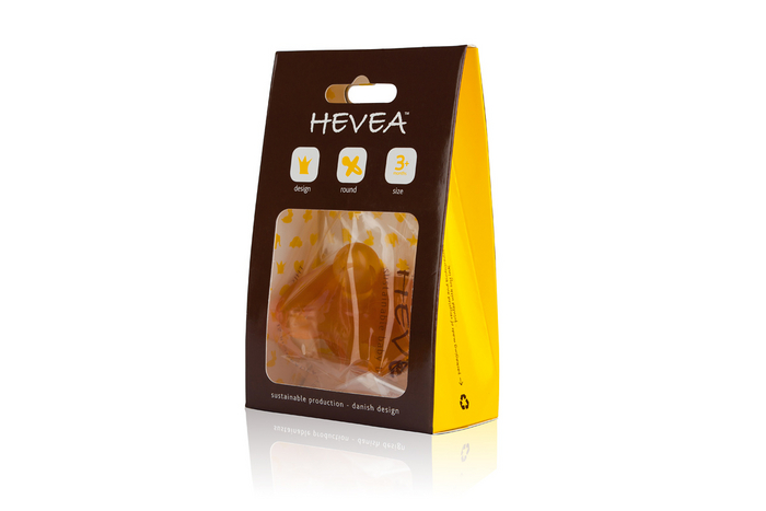 Hevea - Smoczek Anatomiczny Duck 3-36mies