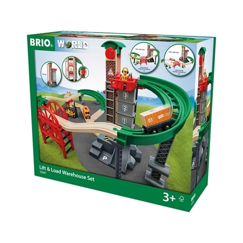BRIO - World Zestaw Magazynowy z Windą