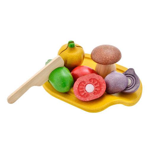 Plan Toys Warzywa Do Krojenia z Deską