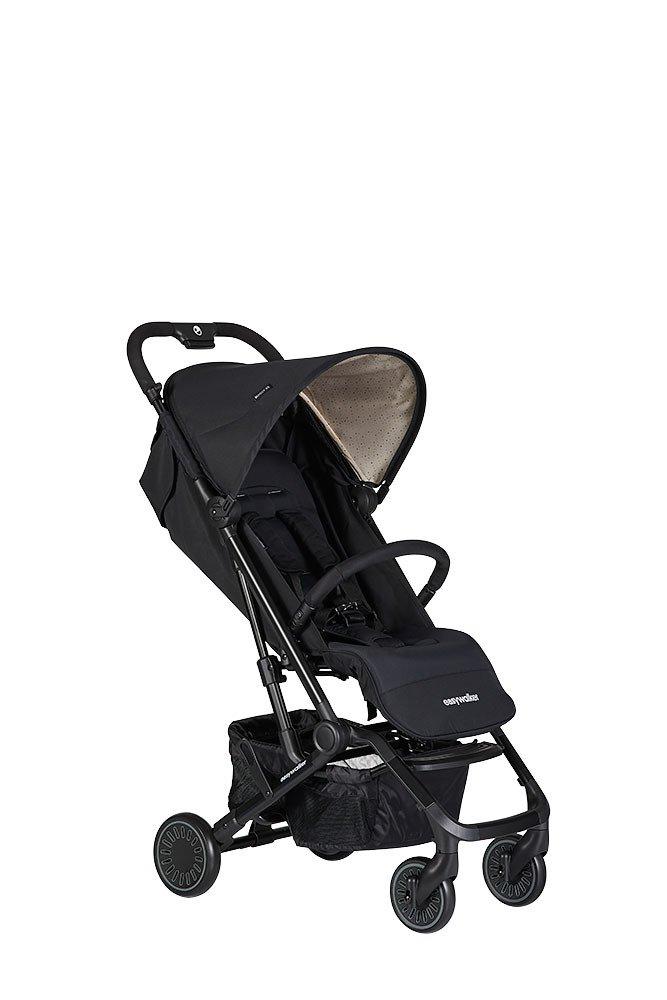 Easywalker - Buggy XS Wózek Spacerowy Z Osłonką Przeciwdeszczową Night Black