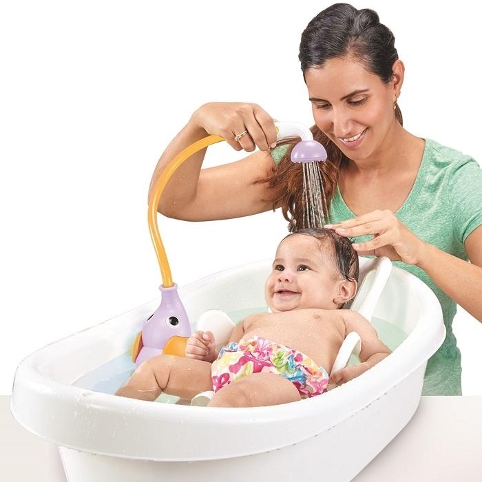 Yookidoo - Prysznic dla Dzieci Słonik Purple