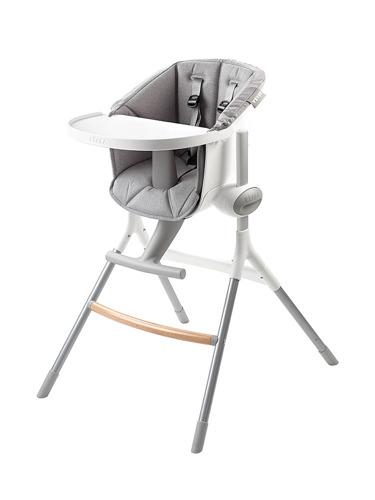 Beaba - Miękki Wkład do Krzesełka do Karmienia Up&Down Grey
