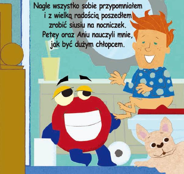 Poette Plus - Nocnik 2w1 + Zestaw Książka i Zabawka Niebieski