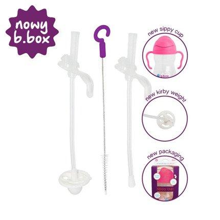 B.BOX - N! Wymienne słomki i szczoteczka do bidonu