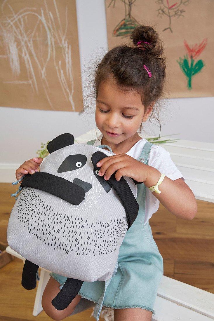 Lassig -  Plecak About Friends z magnesami Panda Pau