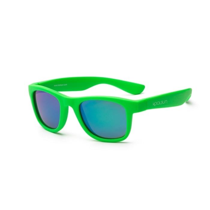 Koolsun - Okularki dla Dzieci Wave Neon Green 1-5 lat
