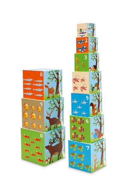 Scratch - Piramida Edukacyjna Zwierzęta Świata
